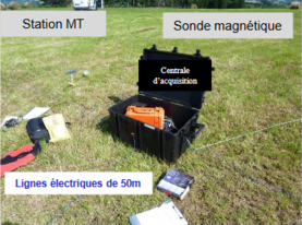 Campagne scientifique de mesures  magnétotelluriques  MAY - MT